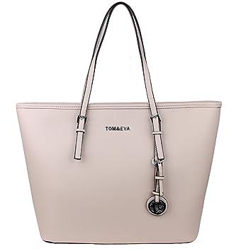bb499b2e2dd94 Tom   Eva Damen Handtasche 6288F TE-Jet Set Travel Bag Tasche Beige ...