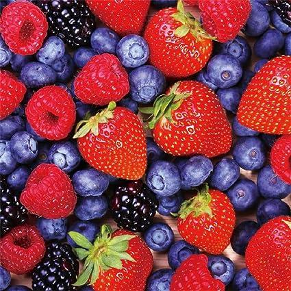 Amazon Com Lfeey 10x10ft Blueberry Strawberry Photo