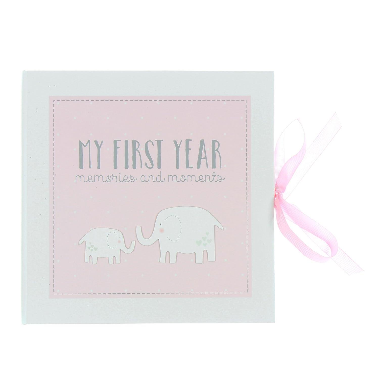 Baby Record Book Keepsake Gift Pink Petit