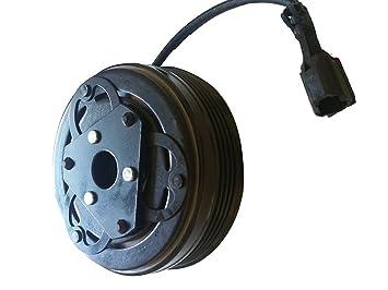 2008 - 2014 Subaru Impreza a/c compresor AC Embrague Kit (Polea, rodamientos, bobina, placa): Amazon.es: Coche y moto