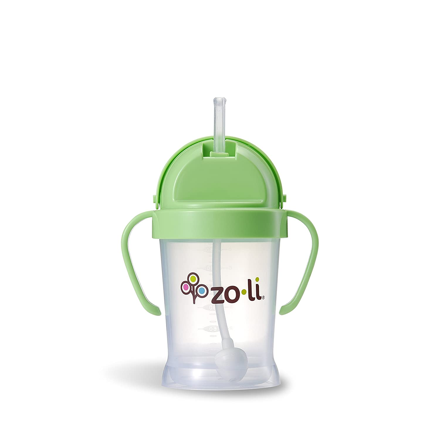ZoLi Bot Straw Sippy Cup (Green) A-BF09PPG001