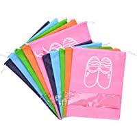 LABOTA 10PCS Bolsas para Zapatos, Zapatos de Viaje