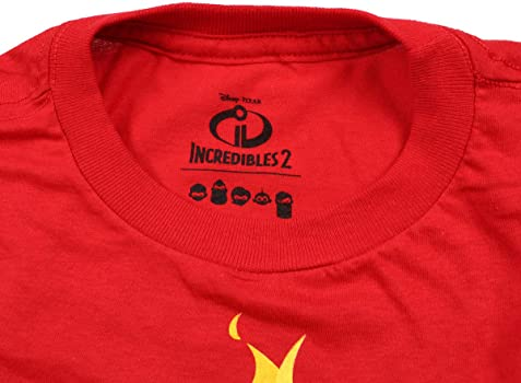 Disney Pixar Boys Incredibles 2 Family Icon T-Shirt