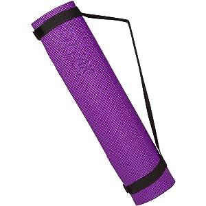 Peak Fulfillment Premium Non-Slip Memory Foam Yoga Mat With Carrying Strap