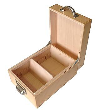 - Fichero de madera, Capacidad para 900 tarjetas A6 horizontal: Amazon.es: Oficina y papelería