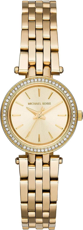 Michael Kors Reloj Analógico para Mujer de Cuarzo con Correa en Acero Inoxidable MK3295: Michael Kors: Amazon.es: Relojes