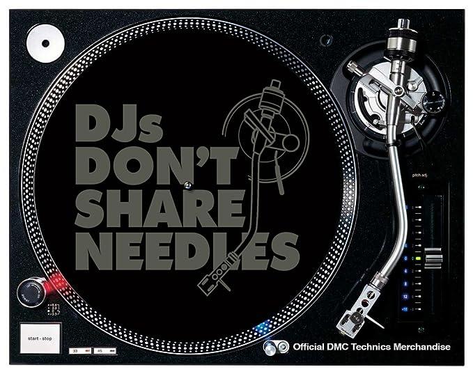 DMC mneed - alfombrilla para tocadiscos, color negro: Amazon.es ...