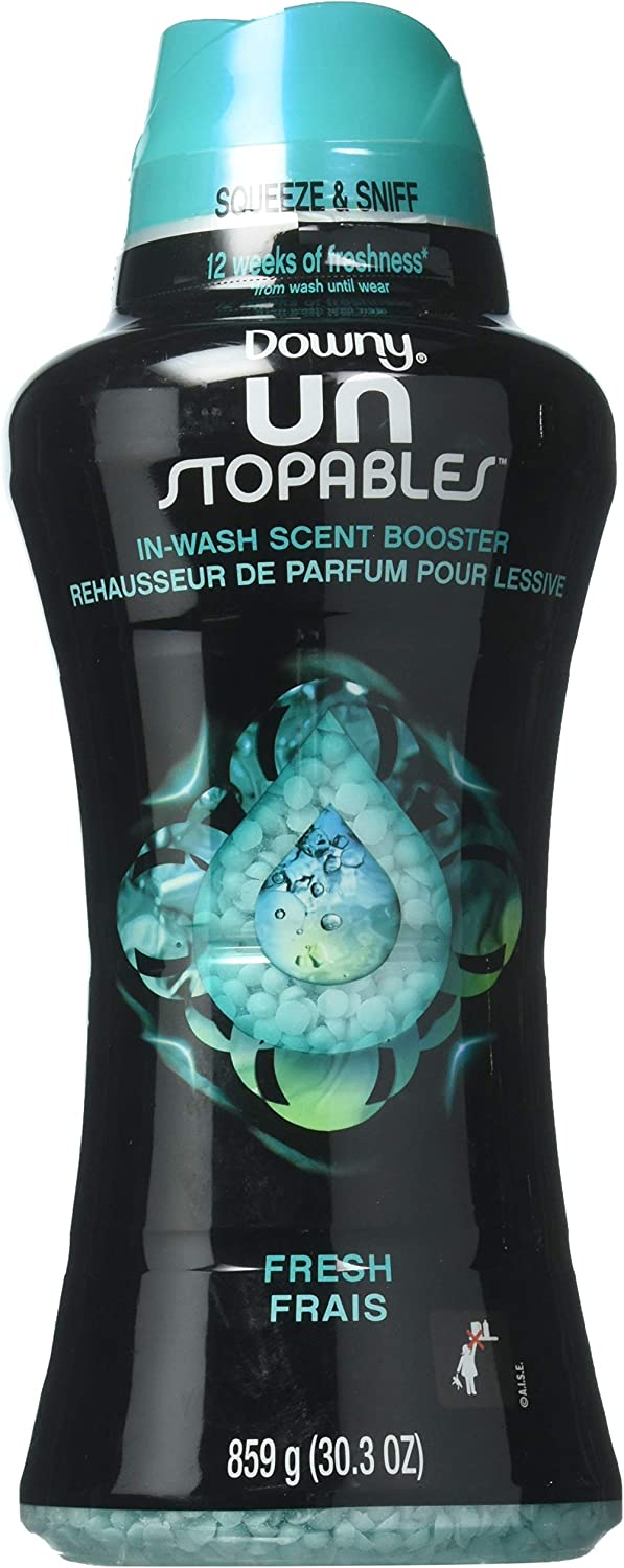 Downy B07GBGFPDJ Unstopables in-Wash Scent Booster Beads, Fresh (30.3 oz.)