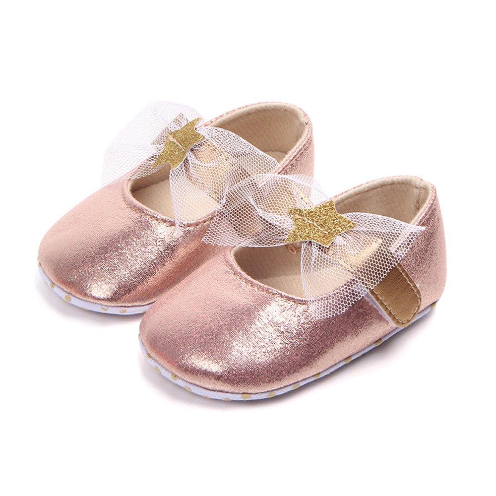 Amazon.com: Voberry Zapatillas de bebé para niñas, suaves y ...