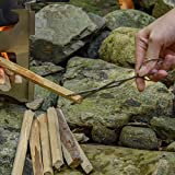 Firewood Tong,Foldable Portable Fireplace Tongs