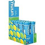 Nuun Sport: Electrolyte Drink Tablets, Lemon Lime, 8 Tubes (80 Servings)