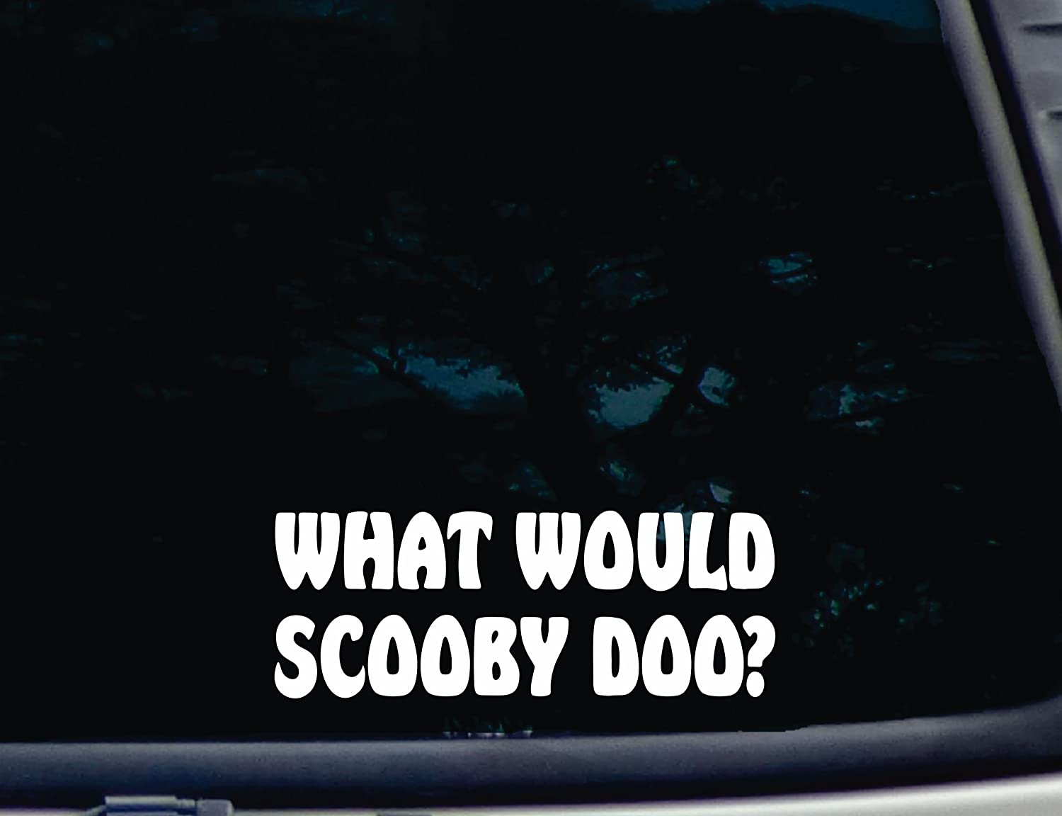 What Would Scooby Do Decal Car or Truck Window Laptop Decal Sticker