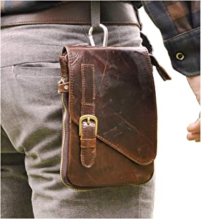 Sunny Genuine Leather Men Man Coin Purse Wallet Waist Belt Loops Bag Mini Coin Purses Wallets Case Pocket Bags Black Free Shipping Fashionable And Attractive Packages Coin Purses Coin Purses & Holders