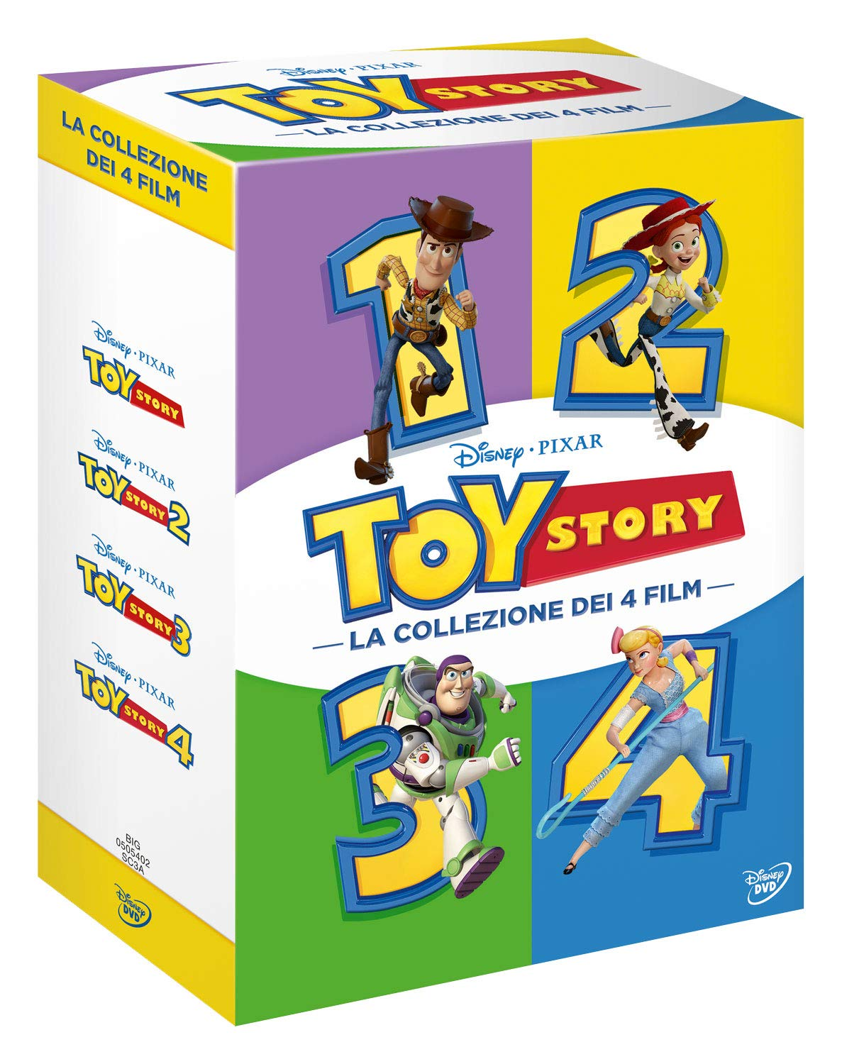 Toy Story Collection (4 Dvd) [Italia]: Amazon.es: Randy Newman ...