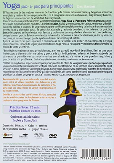 Amazon.com: Yoga Paso a Paso Para Principiantes: Desiree ...