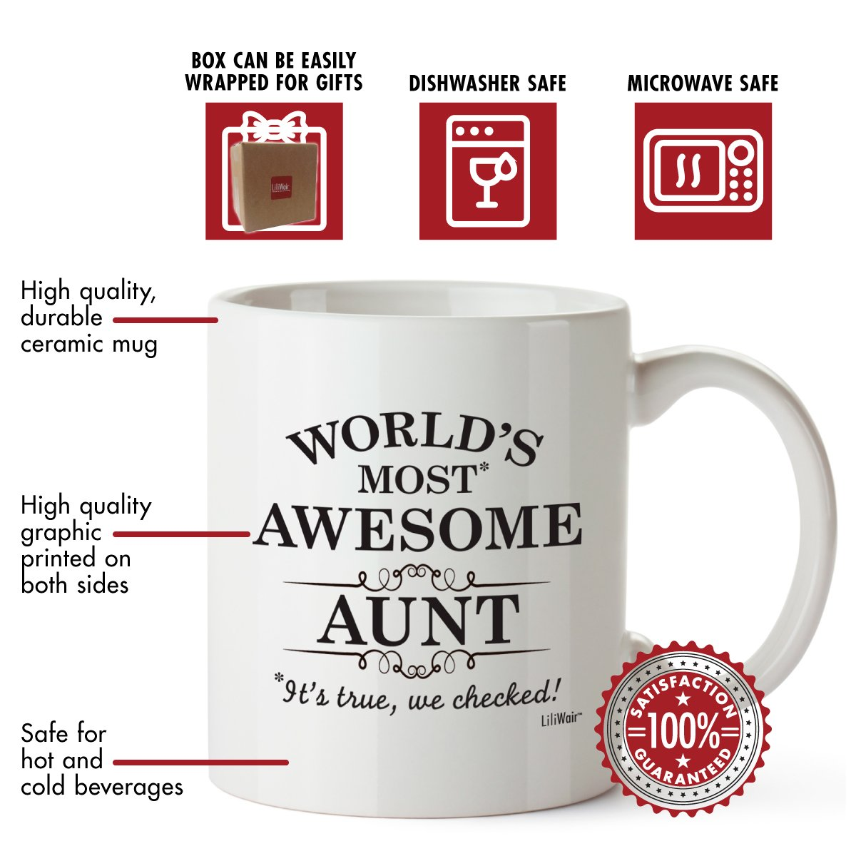 Amazon.com: Aunt Gifts Funny Valentines Day San Valentine Aunts Day ...