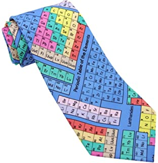 Periodic table tie tie94 science gift gifts for chemists amazon novelty tie periodic table colourful ts 918 urtaz Gallery