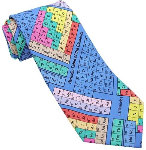 Novelty tie periodic table colourful ts 918 amazon clothing novelty tie periodic table colourful ts 918 urtaz Choice Image