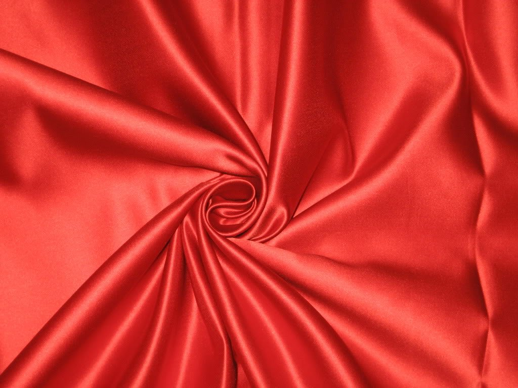 "1 MTR MAROON SATIN LINING FABRIC...45/"" WIDE"