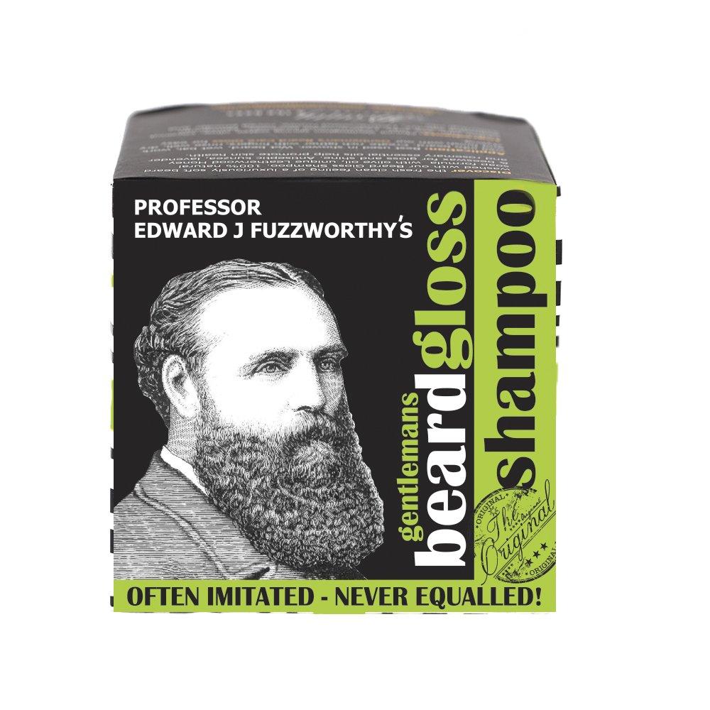 Professor Fuzzworthy NEW Apple Cider Tonic Beard SHAMPOO BAR | 100% Natural & Organic Kunzea & Essential Plant Oils for Beard Growth Dandruff Anti Itch | No Harsh Chemicals |Made in Tasmania Australia Beauty and the Bees Tasmania