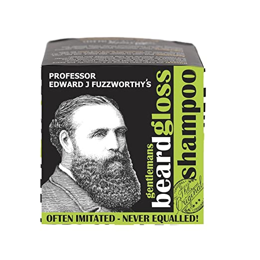 Professor Fuzzworthy NEW Apple Cider Tonic Beard SHAMPOO BAR