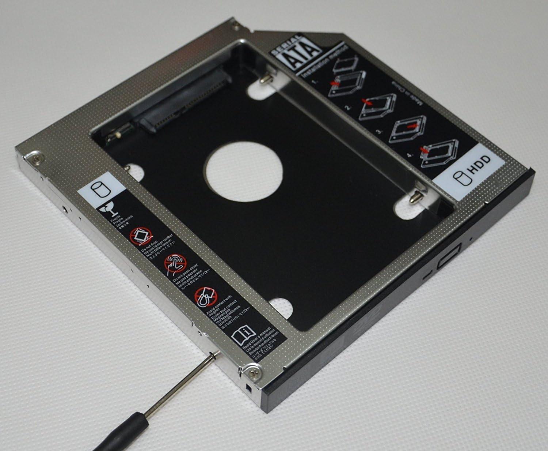 Deyoung 2nd Optical Bay Hard Drive HDD SSD Caddy Enclosure for Asus X455LN X455WA X455WE X456UQ X751 X751LAV X751LD