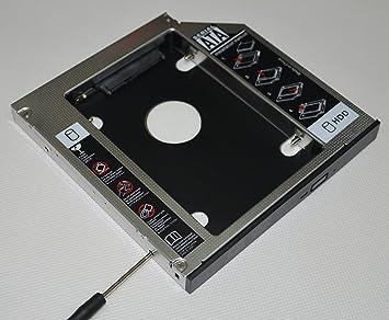 Deyoung 2nd HDD SSD Hard Drive Case Caddy Adapter for Asus N53JG N53Jn N53Jq N53SM
