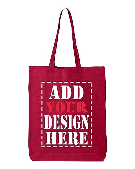Amazon.com: Diseño su propio Navidad bolsa bolsa de lona de ...