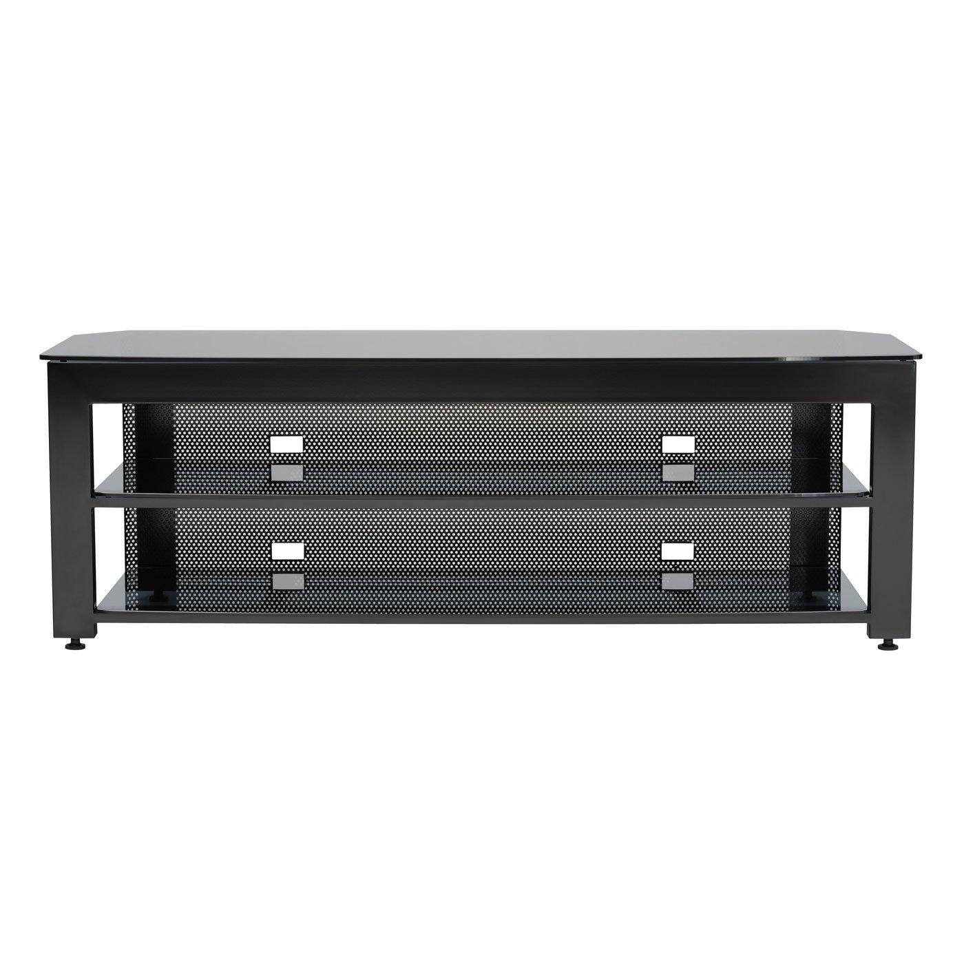 Sanus Steel Furniture 65 Wide AV Stand GEN 2 Black