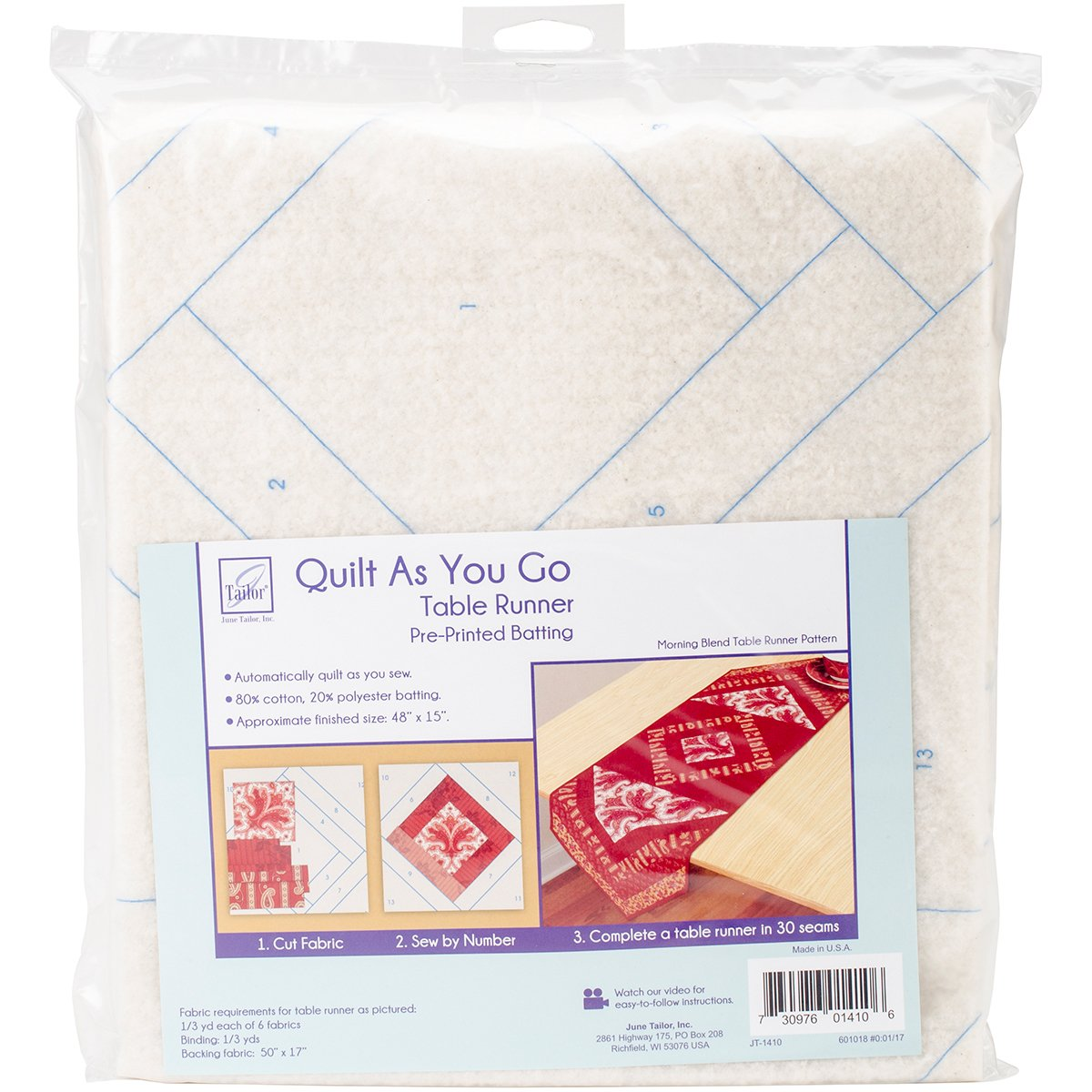 Amazon June Tailor Home Dcor Series Quilt As You Go Table