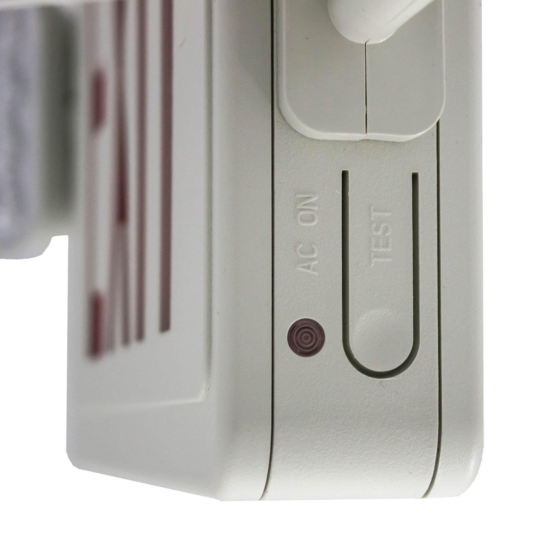 LFI Lights - Hardwired Red LED Combo Exit Sign Emergency Light - COMBOR2