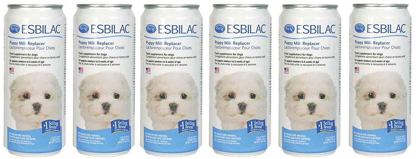 Esbilac Liquid for Puppies 11oz Cans (6-Pack)