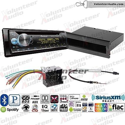Amazon.com: Pioneer DEH-S6120BS Single Din Radio Install Kit ... on tundra radio wiring, corrado radio wiring, vw radio wiring, xterra radio wiring, sx4 radio wiring,
