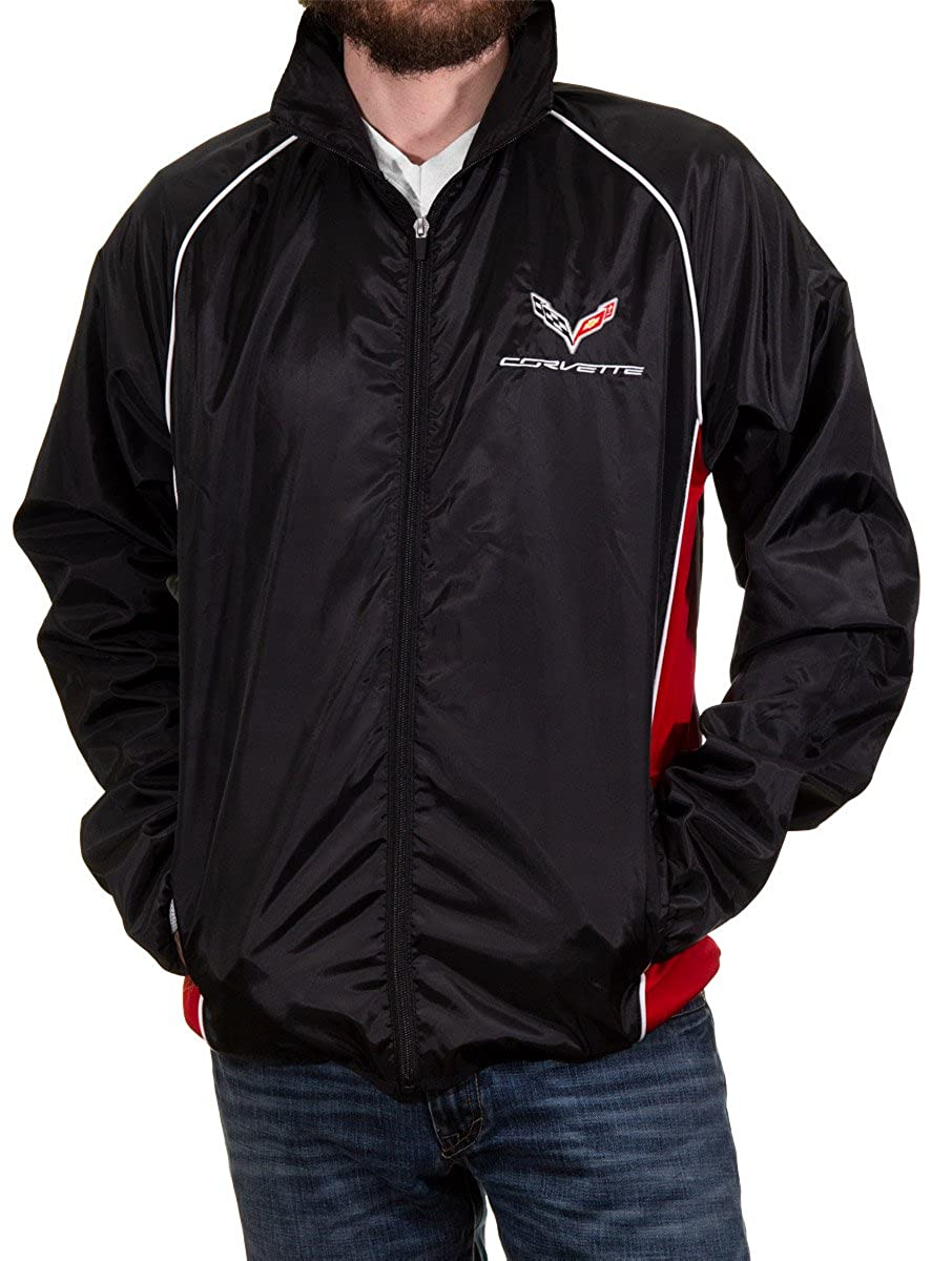 Calhoun Officially Licensed Corvette Light-Weight Zip-Up Jacket