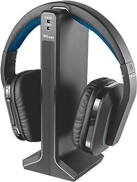 Trust Rezon - Auriculares inalámbricos para TV: Amazon.es: Electrónica