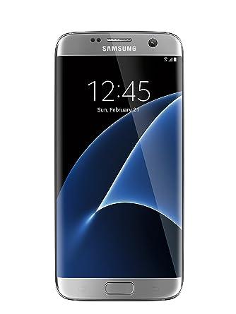 promo code 0f354 ccea6 Samsung Galaxy S7 Edge unlocked smartphone, 32 GB Silver (US Warranty -  Model SM-G935UZSAXAA)