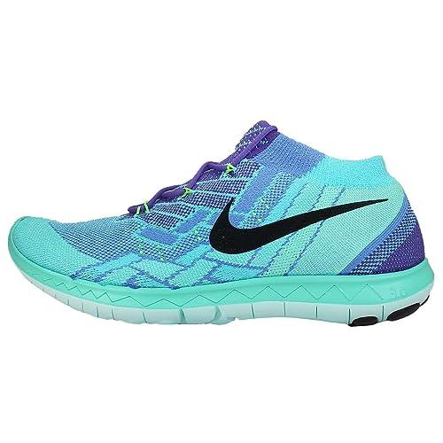 f2268cf23161d Nike Free 3.0 Flyknit Sz 7 Womens Running Shoes Purple New In Box ...