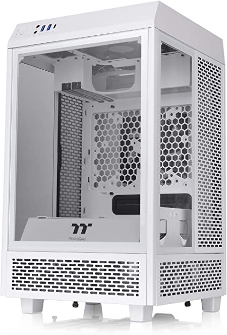Thermaltake The Tower 100 Snow Mini Pc Chassis Computer Zubehör