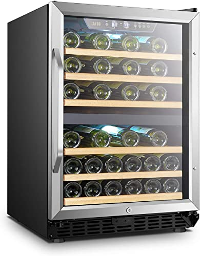 Lanbo-44-Bottle-Built-in-Dual-Zone-Compressor-Wine-Cooler