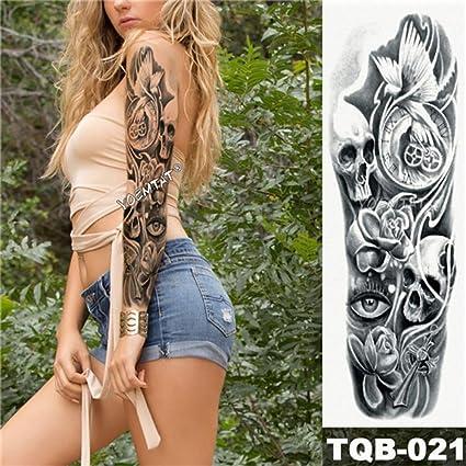 Etiqueta engomada del tatuaje temporal 3pcs tatuaje de loto rosa ...