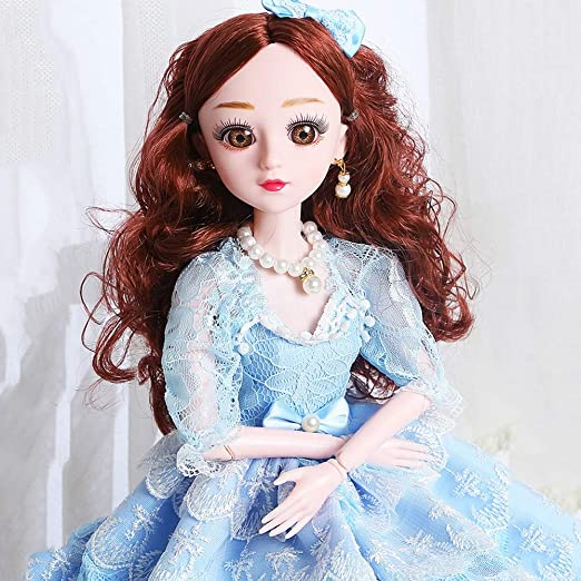 Bonito Princesa BJD Muñeca Exquisito Pelota Articulado Muñeca ...