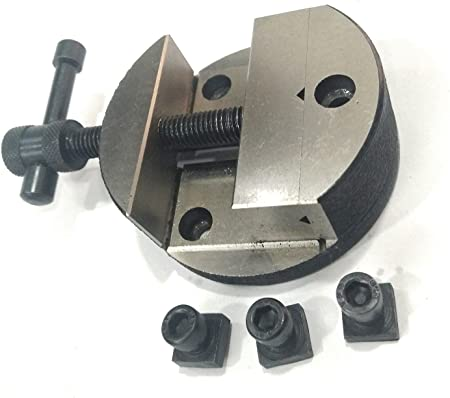 """ROUND VICE 3/""""{Vice has horizontal and vertical vee in moving jaw} ROTARY"""