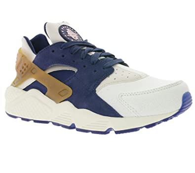 Nike Air Huarache Run PRM Men's Shoes Sail/Midnight Navy/Brown/Pearl Pink