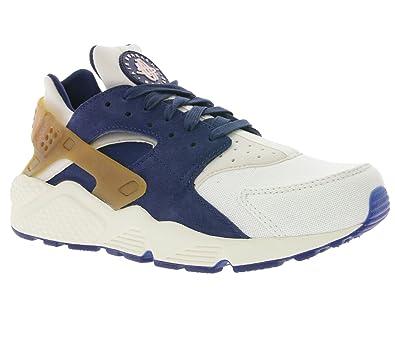 timeless design 5c243 902db Nike Air Huarache Run PRM Mens Shoes SailMidnight NavyBrownPearl Pink