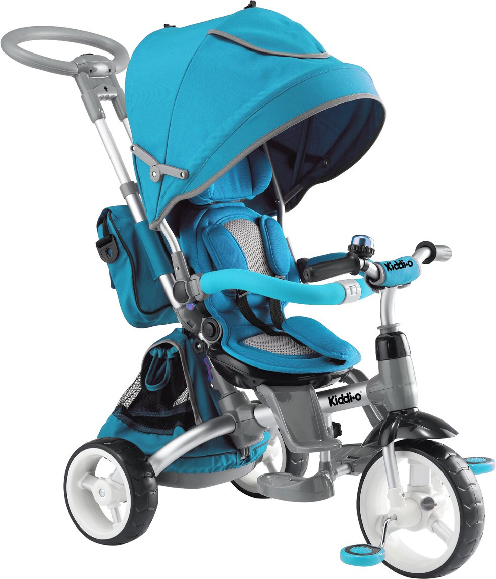 Kiddi-o by Kettler 6-in-1 Multi-Trike Ride-On Vehicle, Turquoise