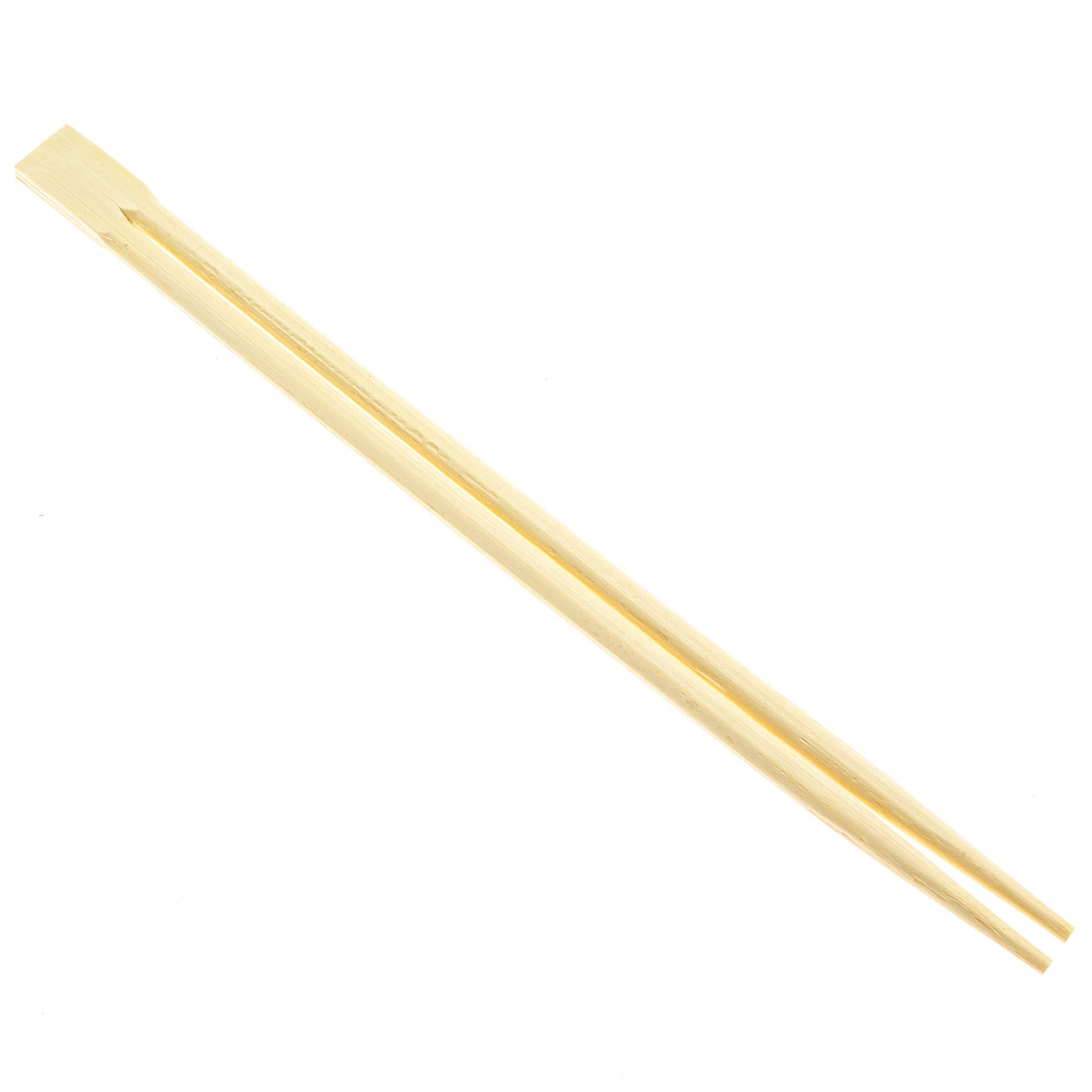 Premium Disposable Bamboo Chopsticks (500 sets), Japanese Disposable Chopsticks Bulk, 9'', Certified Quality by Soeos (Image #3)