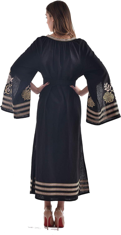 Amazon.com: 2kolyory Vestido largo bordado para mujer ...