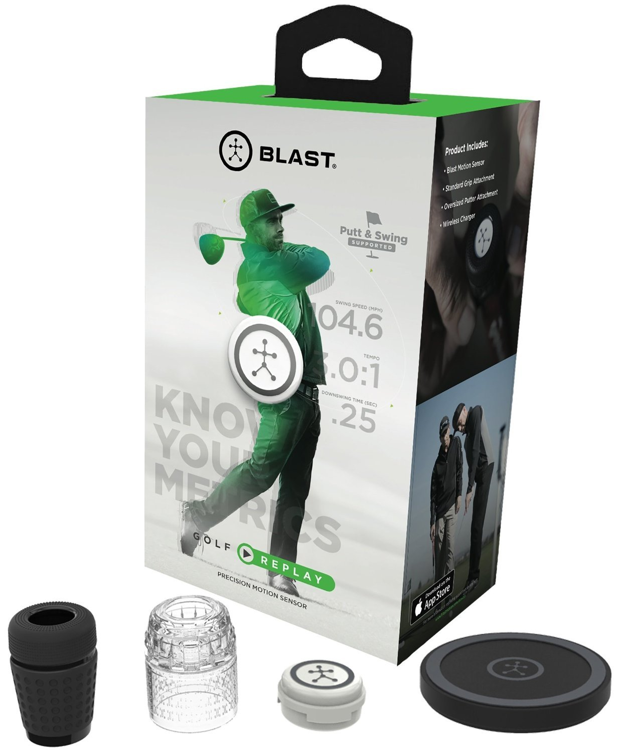 Blast Golf Swing and Stroke Analyzer, Designed by Golf Professionals | November 2017 Software Update by Blast Motion (Image #8)