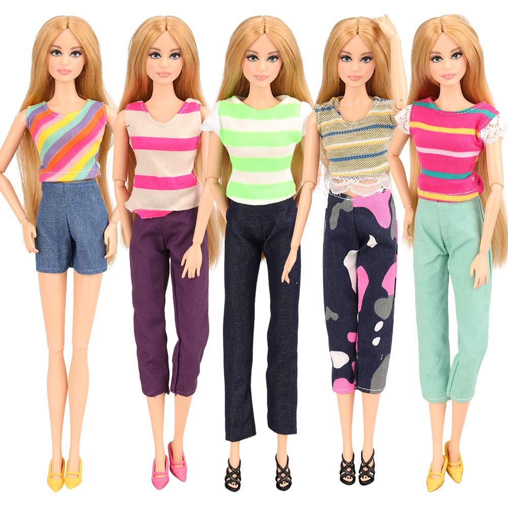 conjuntos de ropa para Barbie