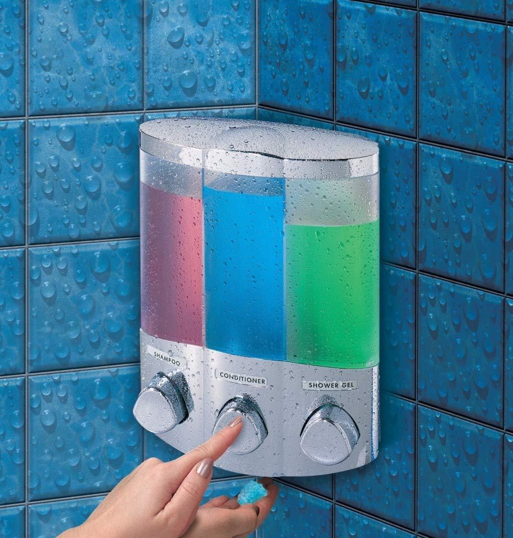 Aviva Trio Chrome Soap Dispenser Better Living 76344